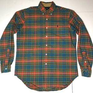 Polo Ralph Lauren Button Down Plaid ShirtCotton